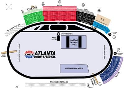 Rusty Wallace Racing Experience at Atlanta Motor Speedway, NASCAR Racing Experience, Driving School