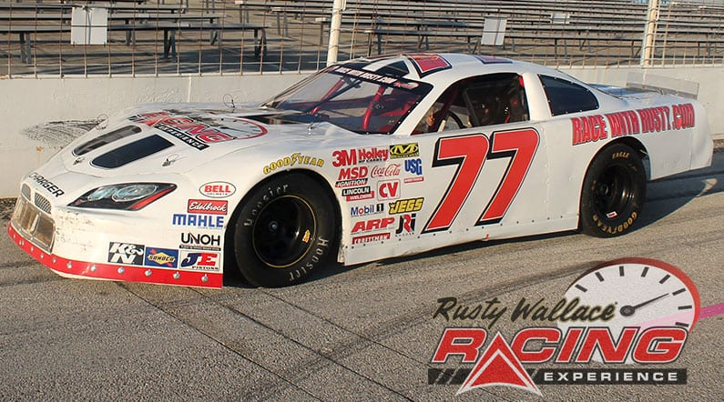 Rusty Wallace Racing Experience at M40 Speedway, NASCAR Racing Experience, Driving School