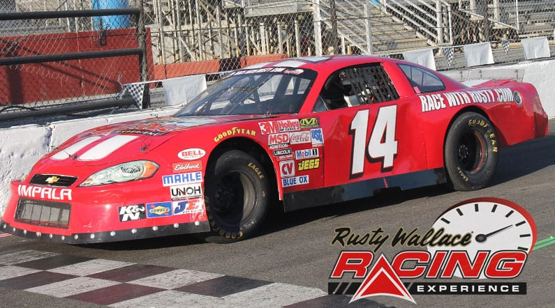 Rusty Wallace Racing Experience at Desoto Super Speedway, NASCAR Racing Experience, Driving School
