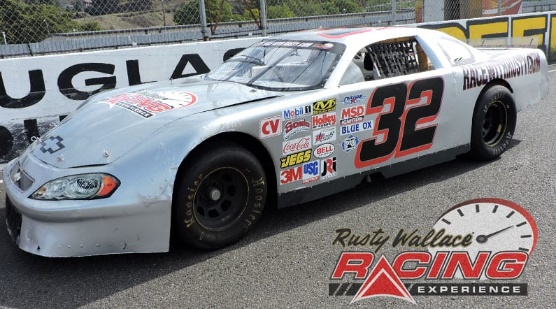 Rusty Wallace Racing Experience at Mobile International Speedway