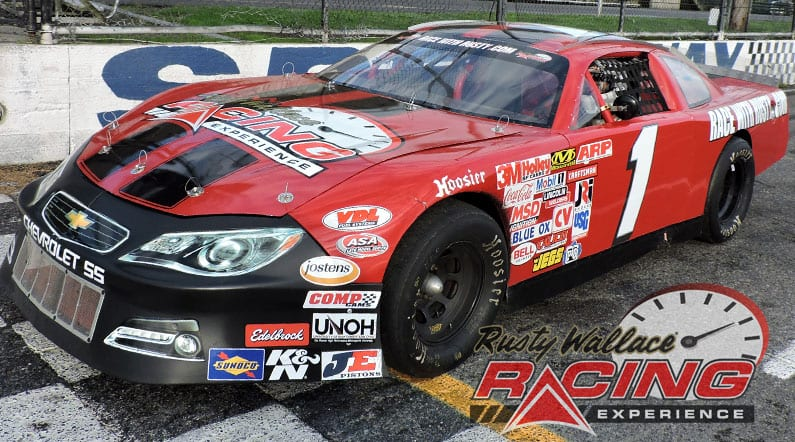 Rusty Wallace Racing Experience at Evergreen Speedway, NASCAR Racing Experience, Driving School