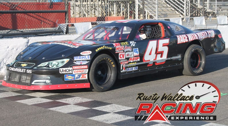 Rusty Wallace Racing Experience at Five Flags Speedway, NASCAR Racing Experience, Driving School