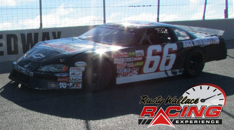 Rusty Wallace Racing Experience at Kawartha Downs and Speedway, NASCAR Racing Experience, Driving School