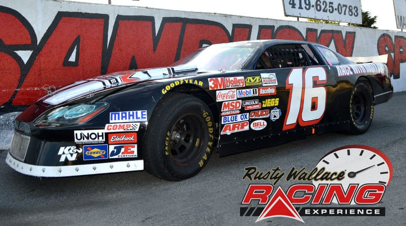 Rusty Wallace Racing Experience at Sandusky Speedway, NASCAR Racing Experience, Driving School