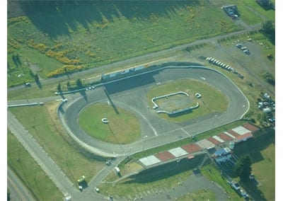 Rusty Wallace Racing Experience at South Sound Speedway, NASCAR Racing Experience, Driving School