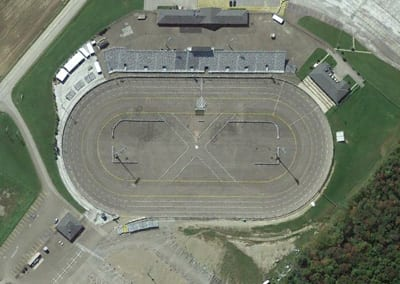 Rusty Wallace Racing Experience at Lake Erie Speedway, NASCAR Racing Experience, Driving School
