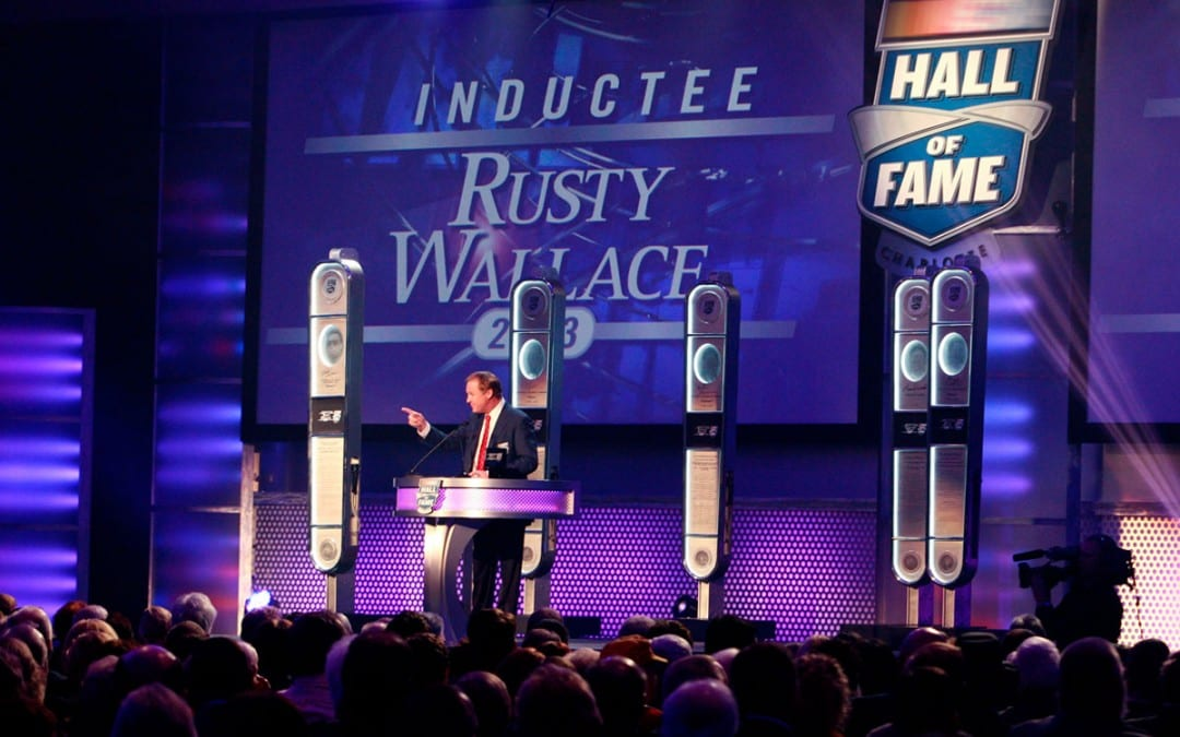 Hall of Fame Weekend with Rusty Wallace
