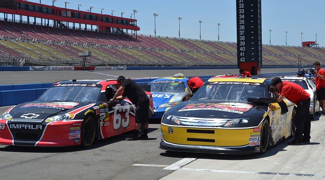 SAVE 60% OFF Driving Experiences at Auto Club Speedway March 4th!