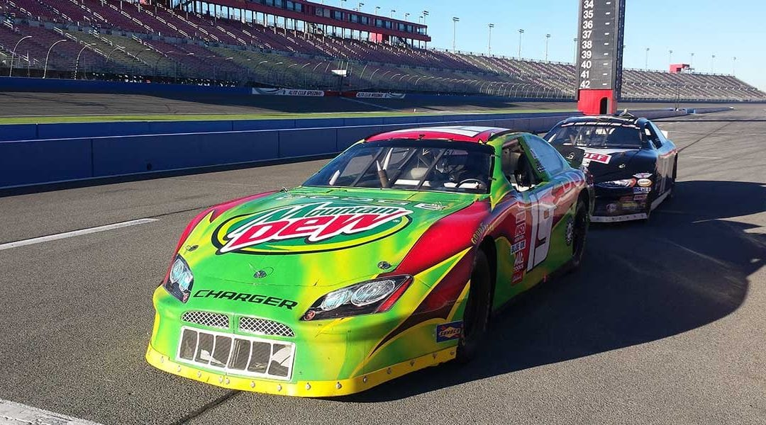 70% OFF Race Car Driving experiences at Auto Club Speedway Sunday June 5th.