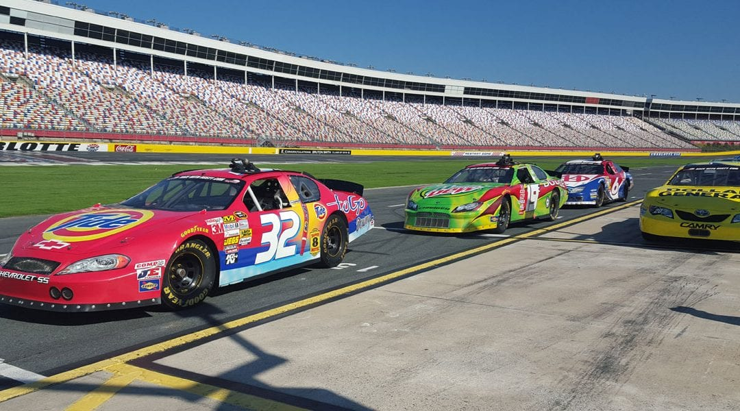 60% Off Driving Experience at Charlotte Motor Speedway July 16th & 17th
