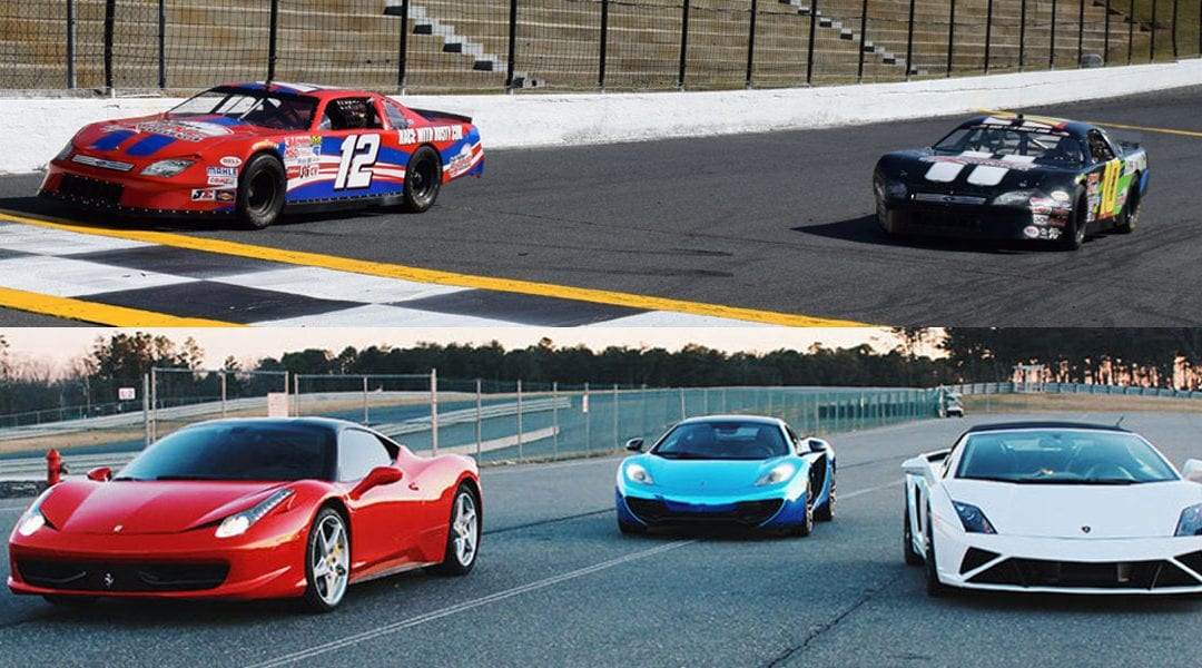 $99 Deal at Dominion Raceway on June 16th! Drive 10 Laps in a Race Car on the oval or 3 Laps in an Exotic Car on an Autocross course.