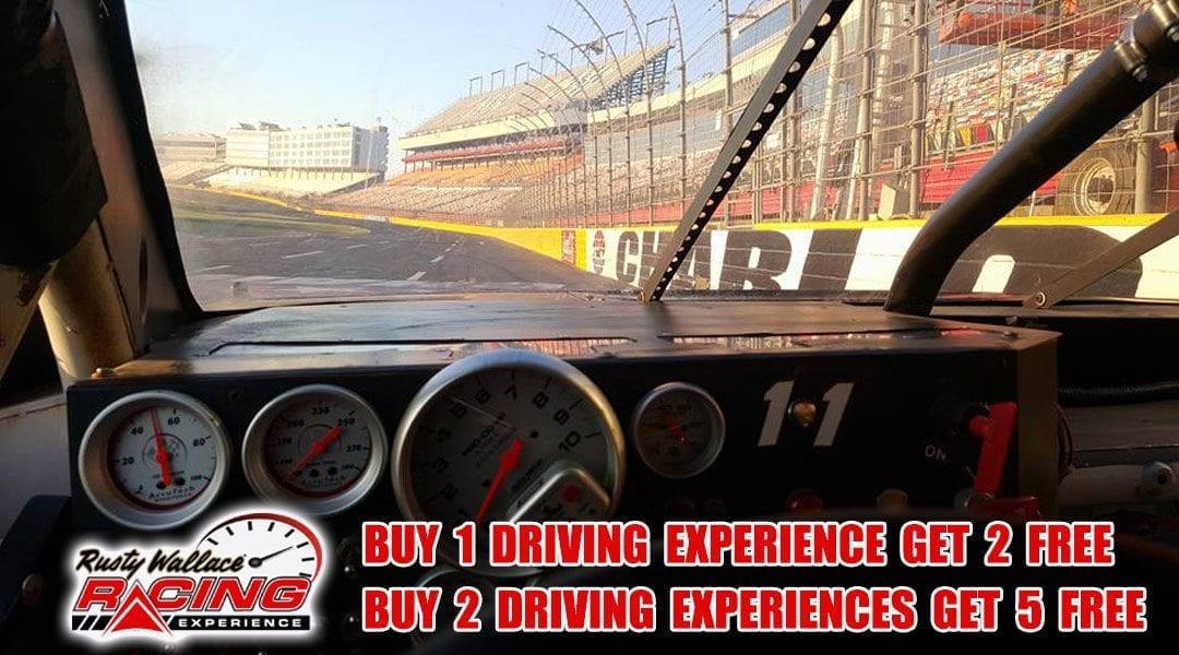 HUGE SAVINGS ON DRIVING EXPERIENCES – Buy 1 Get 2 FREE or Buy 2 Get 5 FREE!