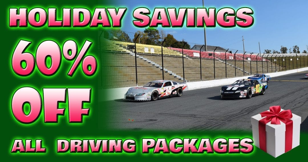 Holiday Savings! 60% OFF All Canada Track Driving Experiences!