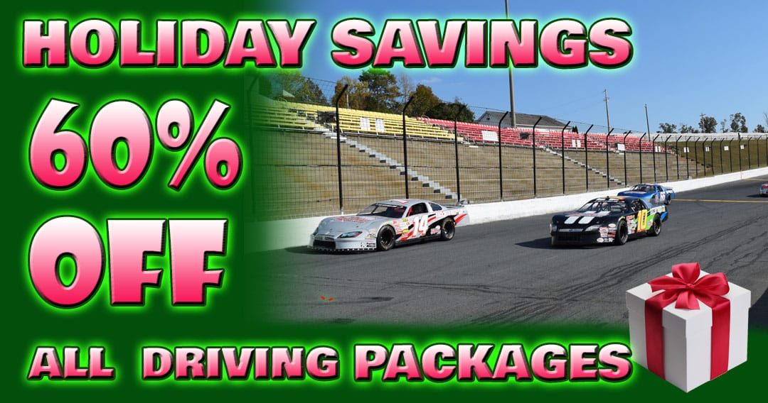 Holiday Savings! 60% OFF All Bull Ring Track Driving Experiences!