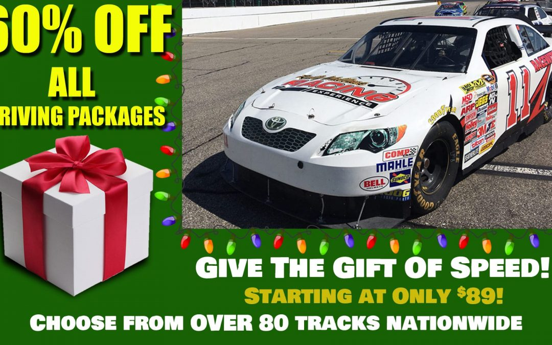 Holiday Savings! Last Chance to Save 60% OFF Driving Experiences!