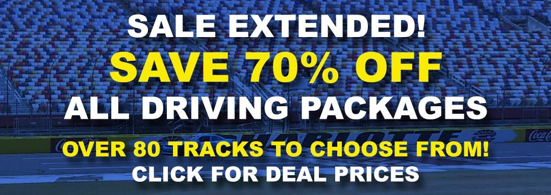 Spring Sale! This Weekend Only Save 70% OFF All Driving Experiences!