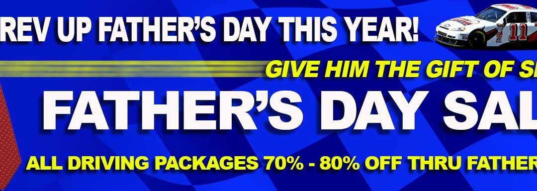 Our Biggest Father's Day Sale Ever! – Save 70% – 80% OFF Driving Experiences!