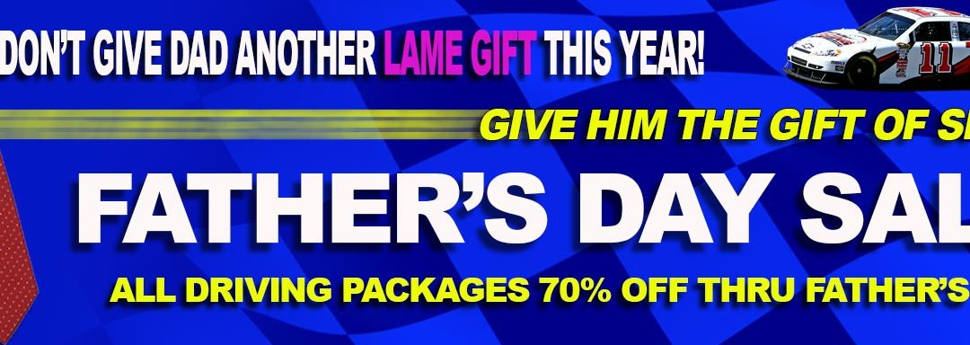 Father's Day Sale – Save 70% OFF All Driving Experiences!