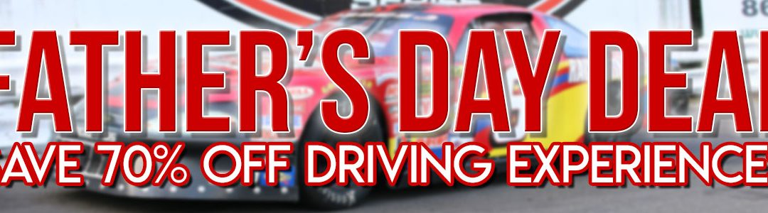 Stafford Motor Speedway – Our Biggest Father's Day Sale Ever! – Save 70% – 80% OFF Driving Experiences!