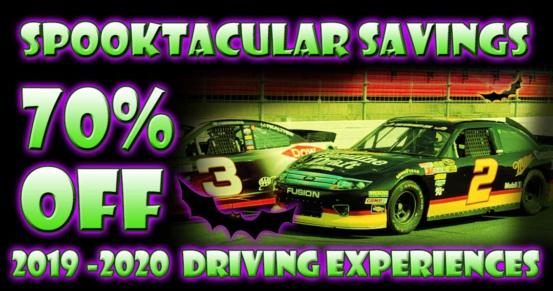 Spooktacular Savings! For a Limited Time – 70% OFF Driving Experiences!
