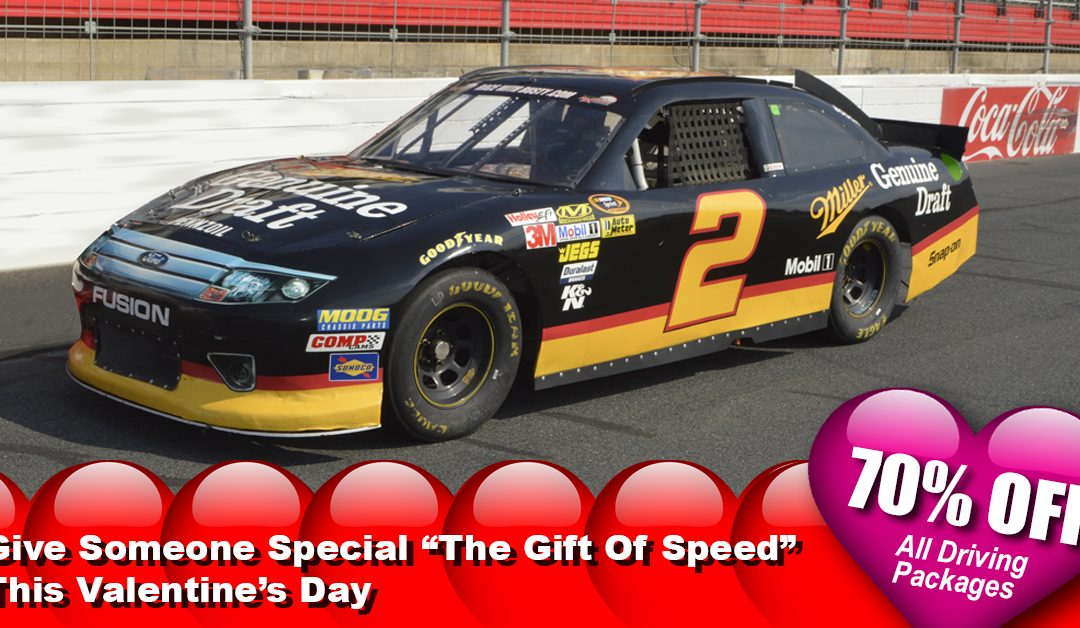 Valentine's Day Deal – 70% OFF All Racecar Driving Packages At Over 80 Tracks Nationwide!